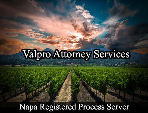 Napa California Registered Process Server