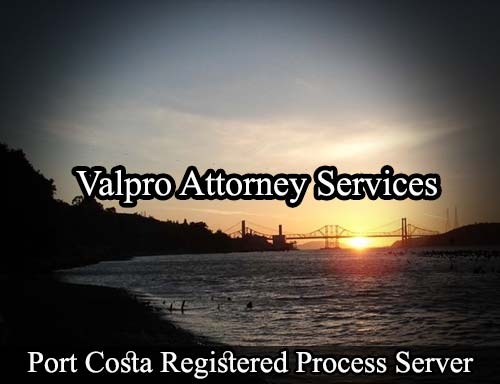 Port Costa California Registered Process Server