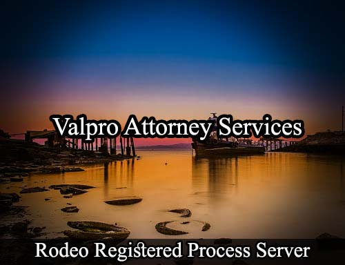 Rodeo California Registered Process Server