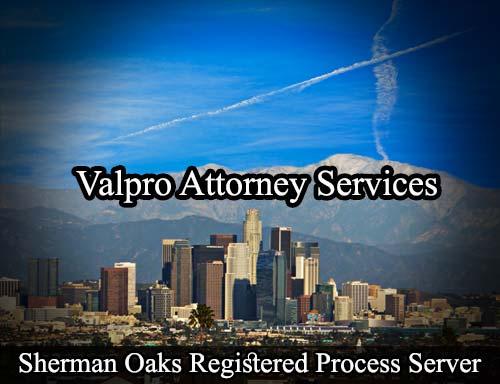Sherman Oaks California Registered Process Server