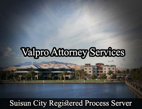 Suisun City California Registered Process Server