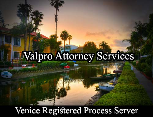 Venice California Registered Process Server