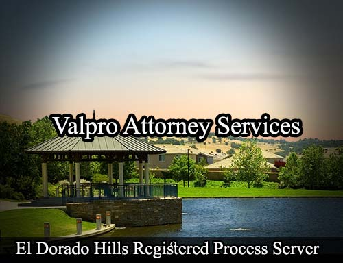 El Dorado Hills California Registered Process Server
